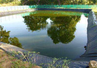 Fischteich und Wassertanks für Schule in Kenia
