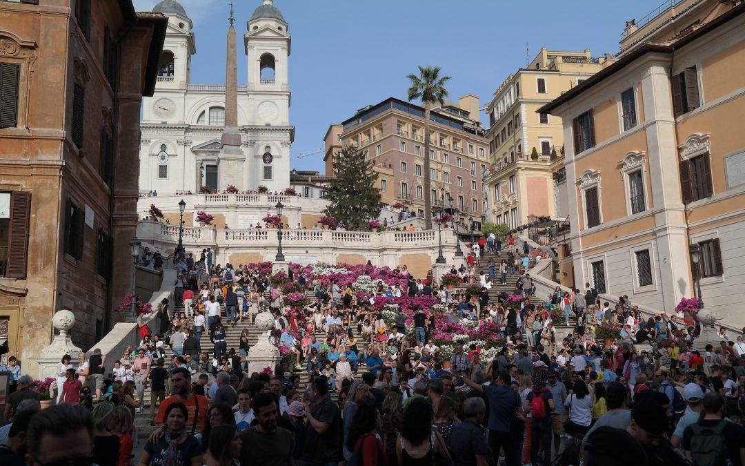 Rom sehen – und das quicklebendig!